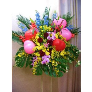 ★当店のスタンド花は、全て自社配達にてお届けいたします。 【配達範囲】 ●東京都:大田区・品川区・港...