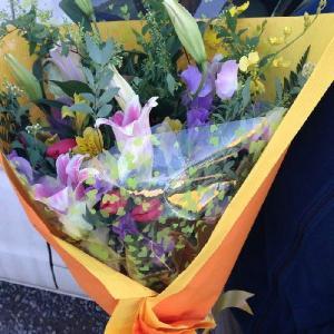 花束ギフトセットLサイズ:送料無料ギフト|hanaoroshi