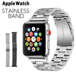 アップルウォッチ バンド ステンレス ベルト 鋼...の商品画像