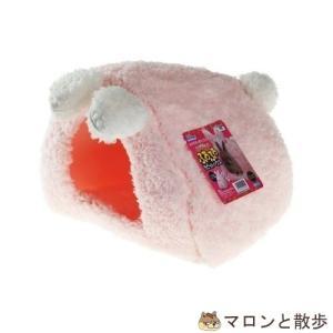 訳あり ドギーマン ウサギのふわふわラビットハウス 1個 うさぎ ベッド 在庫処分|hanasakajijii