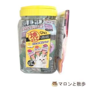 訳あり いなば食品 チャオ ex 焼ささみ(15本入) 猫 おやつ  在庫処分 ◆賞味期限 2020年6月|hanasakajijii