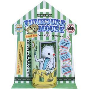 訳あり 【訳あり アウトレット】スーパーキャット ファンハウスマウス マッドサイエンティストマウス【猫 おもちゃ じゃらし】FU-01 【在庫処分】|hanasakajijii