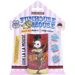 訳あり 【訳あり アウトレット】スーパーキャット ファンハウスマウス OOH LA LAマウス【猫 おもちゃ じゃらし】FU-04 【在庫処分】|hanasakajijii