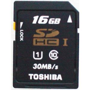 SDHC:純正新品東芝製SDHC16GB I(Class10, 30MB/s)メール便送料160円|hanashinshop