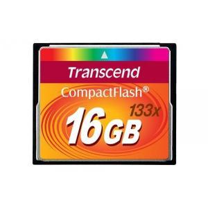 コンパクトフラッシュCF:新品Transcend製16GB(メール便発送)133X|hanashinshop
