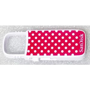 USBメモリ:SanDisk製純正新品Cruzer U 16GB(SDCZ59-016G,白/ピンク)メール便送料160円|hanashinshop
