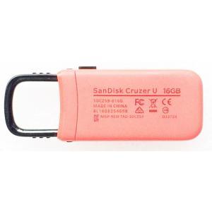 USBメモリ:SanDisk製純正新品Cruzer U 16GB(SDCZ59-016G,赤)メール便送料160円|hanashinshop|02