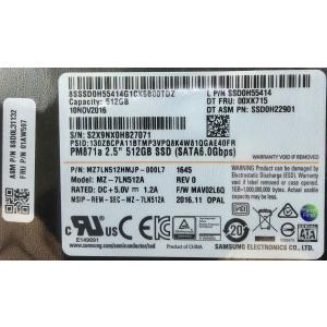 SSD:新品 Lenovo純正 2.5inch 7mm 512GB(Fru.No.:01AW597, MZ-7LN512A)国内発送|hanashinshop