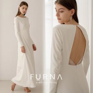 ウエディングドレス 購入 袖あり 二次会 安い 白 ウェディングドレス エンパイア 花嫁 フォトウエディング ビーチフォト 前撮り 後撮り|hanashop