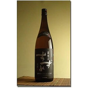 お中元 プレゼント ギフト 人気 焼酎:銀座のすずめ 黒麹 麦焼酎 25゜1800ML|hanatareya