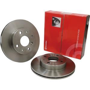 brembo(ブレンボ) ブレーキローター フロント 日産 セレナ C26/HC26/HFC26/NC26/FNC26 10/11-16/08 品番:09.C544.11|hanatora