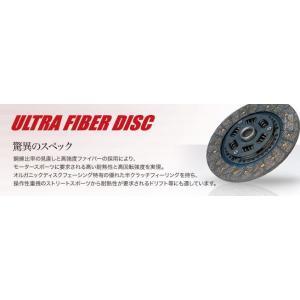 エクセディ ウルトラファイバー クラッチディスク・カバーセット スバル インプレッサSTI GDB/GGB/GRB(6MT)/GVB 品番: FK03HA|hanatora