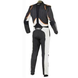 alpinestars(アルパインスターズ) GP TECH SUIT BLACK/WHITE/ORANGE FLUO サイズ:54  品番:3354016-1241-54|hanatora