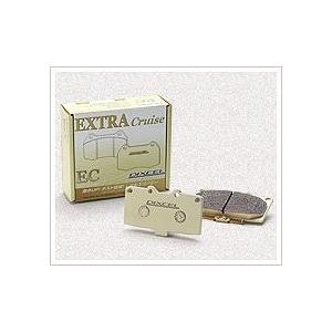 DIXCEL(ディクセル) ブレーキパッド エクストラクルーズタイプ リア 日産 エルグランド E5...