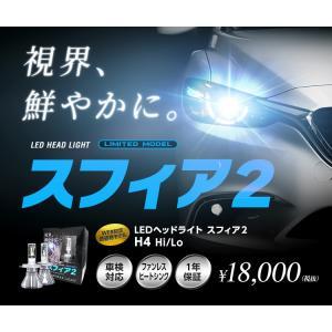 スフィアライト(SPHERE LIGHT) LEDヘッドライト スフィア2 H4 Hi/Lo 6000K 品番:S2H4060|hanatora