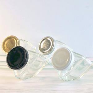 【ハーバリウム用ボトル】斜め置き可 三角型ガラス瓶 90ml 高さ 70mm × 胴径 59mm 花材 植物標本 ハーバリウム