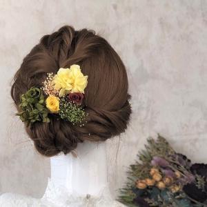 【プリザーブド・ドライフラワー】髪飾り花材セット(2) ウェディング 卒業式 入学式