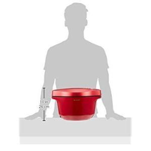 シャープ 自動調理 鍋 ヘルシオ ホットクック 2.4L 大容量 無水鍋 レッド KN-HT24B-...