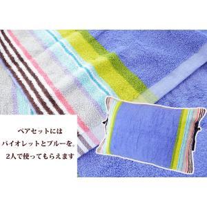 ※こちらのピローカバーのみの購入はできません※ 今治タオル製まくらカバーmoussepuff ブルー *【プリザと枕カバーのセット】と一緒にお買い求めください|hanayoshi-y