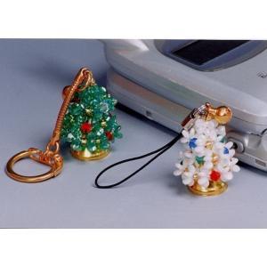 山久 「キラキラツリーホルダー」オリジナルビーズ手芸キット クリスマス|handcraft