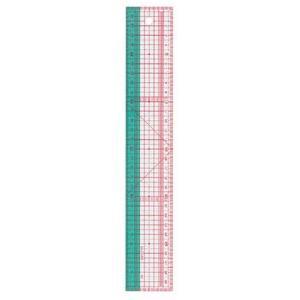 クロバー 方眼定規 30cm 25-053 ソーイング 洋裁 メジャー handcraft