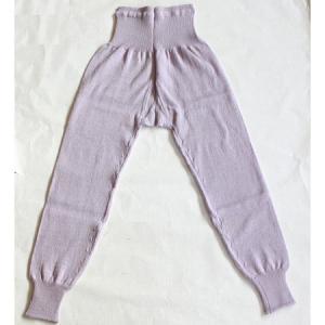 毛糸 パンツ 婦人用純毛 毛糸の下着 41 スラックス下( ズボン下 )Mサイズ ウール100% 純毛 冷え取り 敬老の日 カサハラ|handcraft