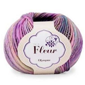毛糸 オリムパス毛糸 フルール|handcraft