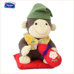 干支 手芸キット 福招きさる PA-712 オリムパス申 猿 さる サル handcraft