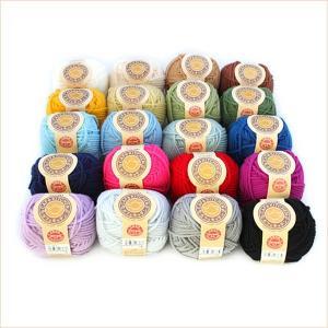 アクリル毛糸 カフェキッチン 20色各1玉セット アクリルたわし 並太 まとめ買い用 日本製 ダルマ毛糸|handcraft