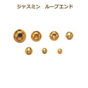 toy ジャスミン N-810 ループエンド10mm丸、金・銀 20個単位 ゴールド/シルバー 取寄せ商品|handcraft