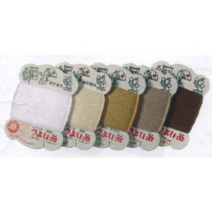 つよい糸 24番 100mカード巻 同色5枚単位 LH102005 純綿手縫い糸 リトルハウス ネコポス可 金亀 handcraft