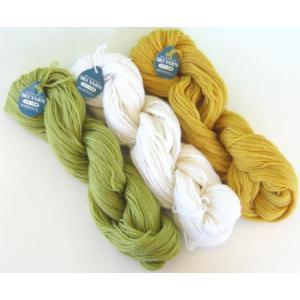 毛糸 スキー毛糸 中細かせ50g 毛100% 元廣|handcraft