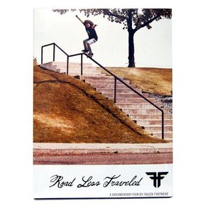 FALLEN  DVD ROAD LESS TRAVELED スケートボードDVD|handcsports