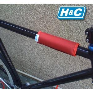 ショートタイプ フレームパッド H&C BMX ピスト|handcsports|04
