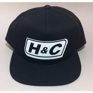 5パネル スナップバック ネームロゴ H&C |handcsports