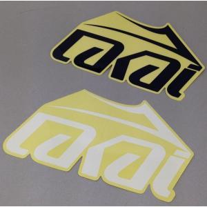 ラカイ ネームロゴ ステッカー5枚セット|handcsports