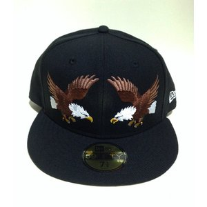 ニューエラ5950 newera SUKAJAN EAGLES/BLACK|handcsports
