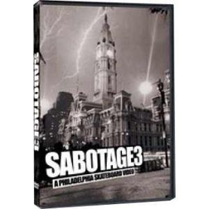 SABOTAGE 3 スケートボードDVD |handcsports