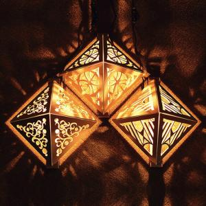 ランプ 手作り木で作るブラケットライ