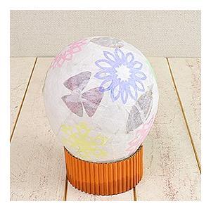 ランプ工作キット 手作り和紙で作る風船ランプ(ライト別売)