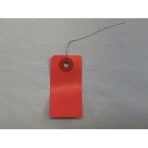 東急ハンズ カラー針金豆荷札 赤 50枚入|hands-net