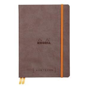 東急ハンズ ロディア(RODIA) ゴールブック A5 ドット cf117743 ショコラ|hands-net