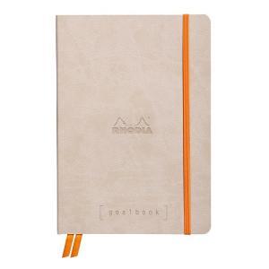 東急ハンズ ロディア(RODIA) ゴールブック A5 ドット cf117745 ベージュ|hands-net