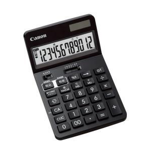 東急ハンズ キャノン(Canon) ビジネス電卓 12桁 ブラック|hands-net