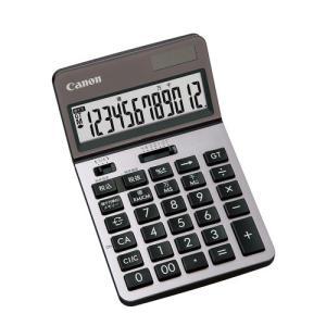 東急ハンズ キャノン(Canon) ビジネス電卓 12桁 シルバー|hands-net