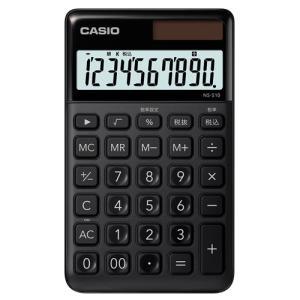 東急ハンズ カシオ(CASIO) スタイリッシュ電卓 NS-S10-BK-N ブラック|hands-net