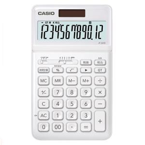 東急ハンズ カシオ(CASIO) スタイリッシュ電卓 JF-S200-WE-N ホワイト|hands-net