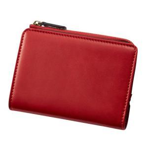 ダンテスカ ミニ財布 二つ折り MOD−9 レッド 送料無料 東急ハンズ