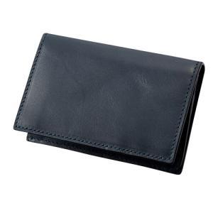 ダンテスカ カードケース MOD‐12 ネイビー 送料無料 東急ハンズ