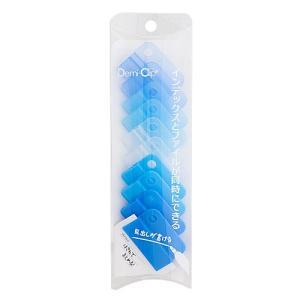 東急ハンズ パレット デミクリップ DM−40 ブルー 10個入|hands-net